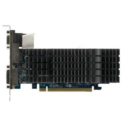 ASUS GeForce 210 1024MB DDR3/64bit DVI/HDMI PCI-E Silent (475/1580) (Low Profile) (chłodzenie pasywne)