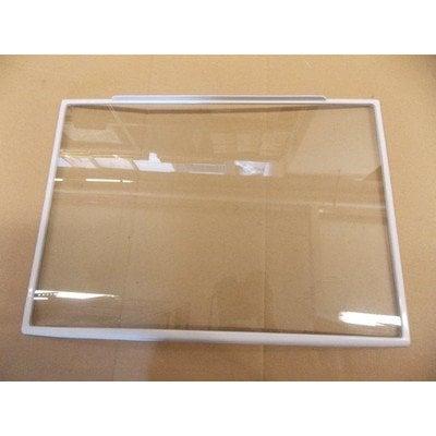 Półka szklana 450x320x3 z ramką (1030068)