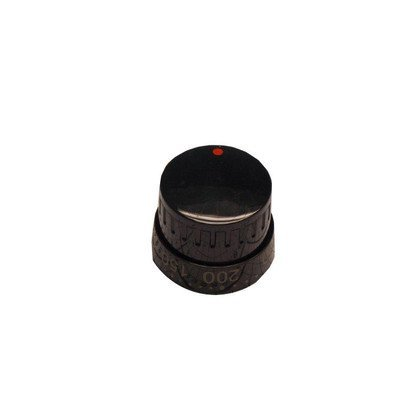 Pokrętło termostatu scandium15 7053 czarne (9046978)