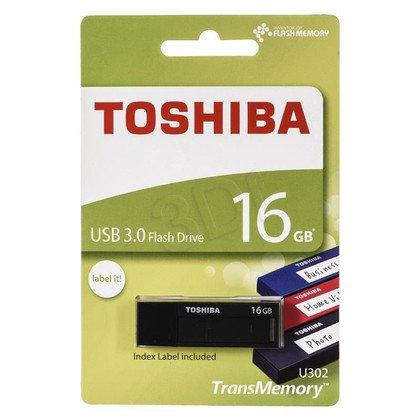 TOSHIBA Flashdrive U302 16GB USB 3.0 czarny