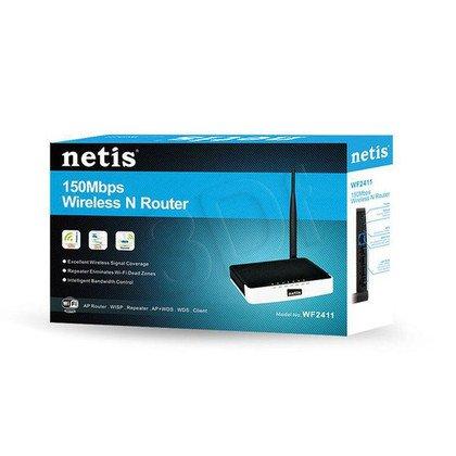 NETIS ROUTER WIFI G/N150 DSL+4 LAN ODCZEPIANA ANTENA 5DBI WF2411D