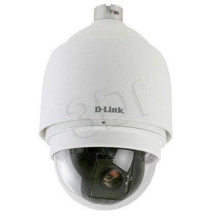 D-LINK [DCS-6815] Kamera IP kopułkowa [zewnętrzna] [PoE 802.3af] [MJPEG] [wandaloodporna, PTZ, WDR, IP66]