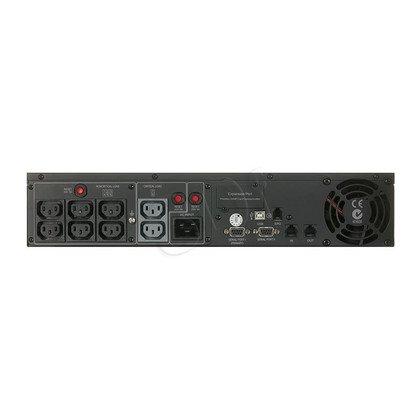 UPS CYBERPOWER PR2200ELCDRT2U (VI, Rack/Tower, 2200VA, 1980W, 8xIEC (8x Backup), FL6min/HL16min)