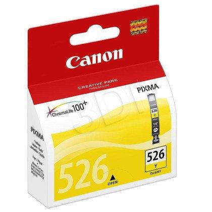 CANON Tusz Żółty CLI-526Y=CLI526Y=4543B001, 500 str.