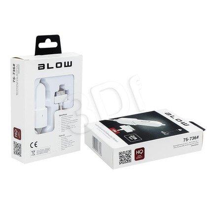 Blow Ładowarka samochodowa iPhone 4 2100mA
