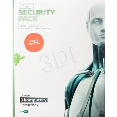 ESET SECURITY PACK BOX -3 STAN/36M +3 SMARTFONY/36M