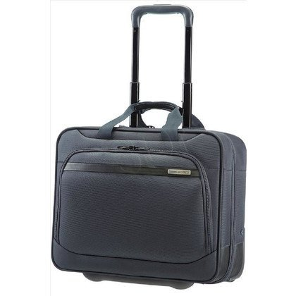 "SAMSONITE LAPTOP BREFCASE/WH 39V08009 VECTURA-OFFICE CASE 15,6""/2 KOŁA. NA NOTEBOOK, TABLET I SEGREGATOR, KIESZEŃ Z PRZODU"