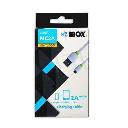KABEL ZASILAJĄCY I-BOX USB-MICRO USB 2A 1M