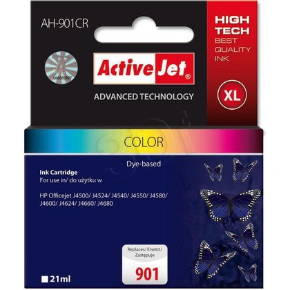 ActiveJet AH-901CR (AH-C56) tusz kolorowy do drukarki HP (zamiennik HP 901 CC656AE)