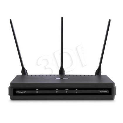 D-LINK DAP-2553 Wireless N Dualband Gigabit AP PoE