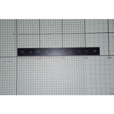 Wklejka panelu sterowania + taśma (1034460)