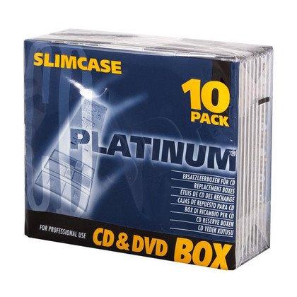 PUDEŁKO NA CD 1SZT 5,2mm SLIM CASE 10szt
