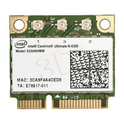 KARTA WI-FI INTEL CENTRINO ULTIMATE-N 6300 3x3 HMC