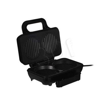 Opiekacz do hamburgerów Tristar GR-2843 (800W Czarno-Srebrny)