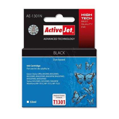 ActiveJet tusz zamiennik Epson T1301 Black SX620/BX42/BX935 AE-1301N