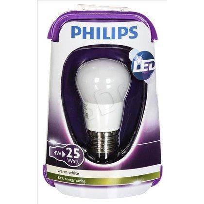 Philips żarówka LED 8718696474969 (kulista 250lm 4W E27 ciepła biel)