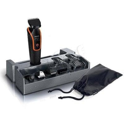 Maszynka do strzyżenia Philips QG3340/16 (Czarno-pomarańczowy)