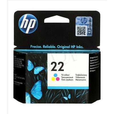 HP Tusz Kolor HP22=C9352AE, 165 str., 5 ml