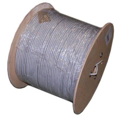 Kabel MADEX U/UTP (UTP) 4PR 23AWG kat.6 PVC 500m - SZARY - ULTRALINK - 100% MIEDŹ!
