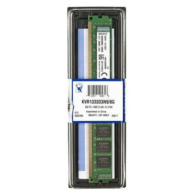 KINGSTON DDR3 8GB 1333MHz KVR1333D3N9/8G