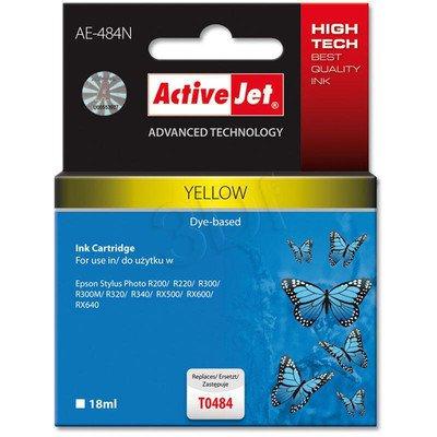 ActiveJet AE-484N (AE-484) tusz yellow pasuje do drukarki Epson (zamiennik T0484)