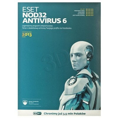 ESET NOD32 ANTIVIRUS UPGRADE - 3 STAN/12M