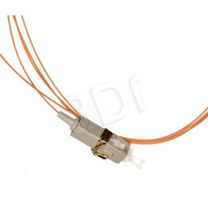 ALANTEC pigtail LSOH 2m MM 1G 50/125 wtyk SC pomarańczowy