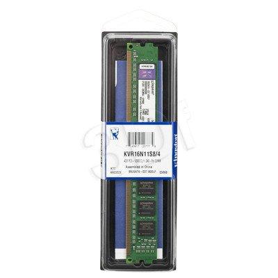 KINGSTON DDR3 1600MHz KVR16N11S8/4