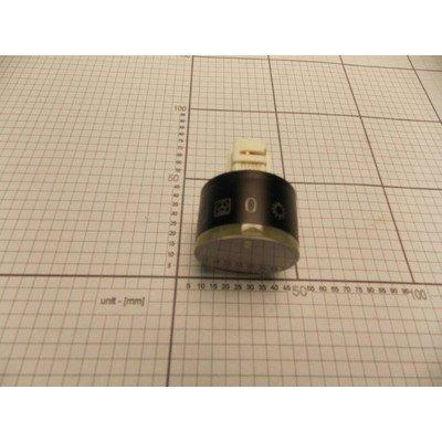 Pokrętło podświetlane chowane 38 inox (8052659)