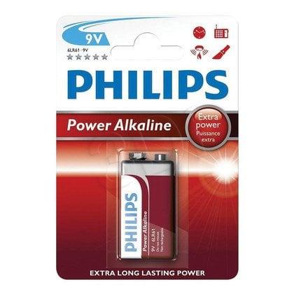 Philips Bateria alkaiczna 6LR61 blister 1szt.