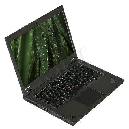 """LENOVO ThinkPad T440p i7-4810MQ 16GB 14"""" FHD 512GB HD4600 GT730M LTE Win7P Win8.1P Czarny 20AWA1G3PB (WYPRZEDAŻ) 3Y"""