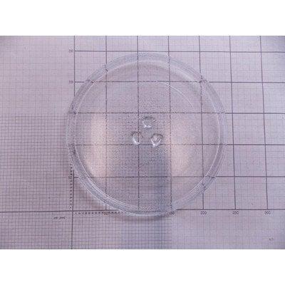 Talerz szklany fi-245 (koniczynka wypukła) (1011028)