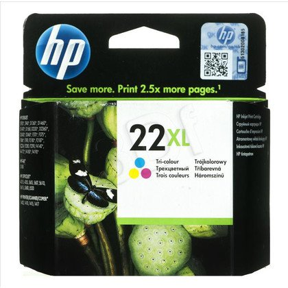 HP Tusz Kolor HP22XL=C9352CE, 415 str., 11 ml