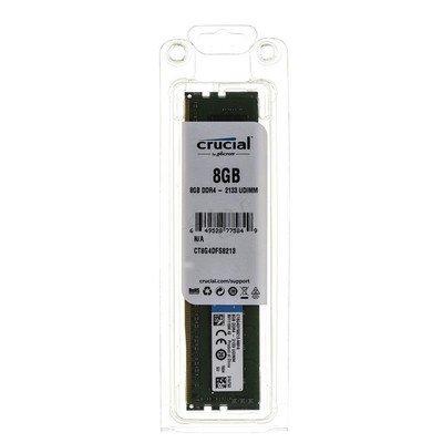 Crucial DDR4 UDIMM 8GB 2133MT/s (1x8GB) CT8G4DFS8213