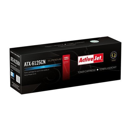 ActiveJet ATX-6125CN cyan toner do drukarki laserowej Xerox (zamiennik 106R01335) Supreme