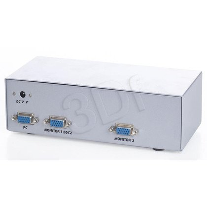 VIDEO SPLITTER VGA 1PC->2xVGA