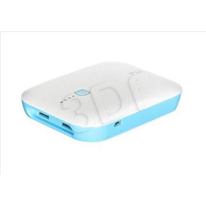 Fortron Powerbank Runner 7800mAh USB biało-niebieski