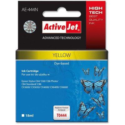 ActiveJet AE-444N (AE-444) tusz yellow pasuje do drukarki Epson (zamiennik T0444)
