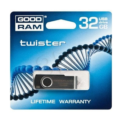 GOODDRIVE FLASHDRIVE 32GB USB 2.0 Twister czarny