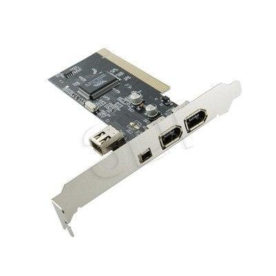 KONTROLER 4 PORTY (3+1) FiIREWIRE/1394 NA PCI