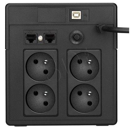 LESTAR UPS MCL-1200FFU 1200VA/720W AVR LCD 4XFR USB RJ 45