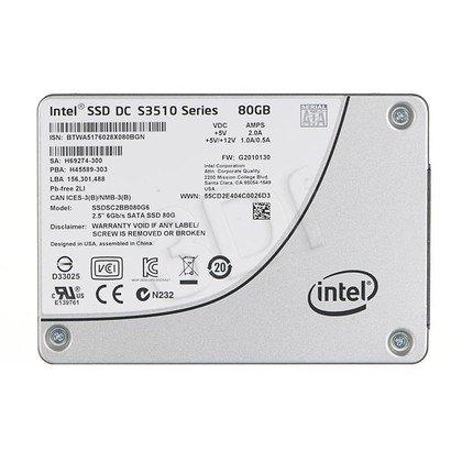 Dysk SSD Intel DC S3510 80GB SATA III