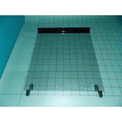 Zespół nakrywy szklanej 53 kwadrat ALUM anodowany (9044626)
