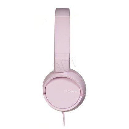 Słuchawki nauszne Sony MDR-ZX110P (Różowy)