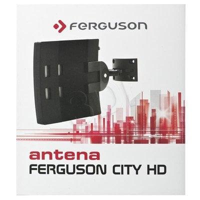 Antena DVB-T Ferguson CITY HD Kierunkowa Zewnętrzna 470-862 (UHF), 174-240 (VHF)MHz 28dB Złącze Typu F
