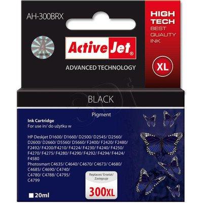 ActiveJet AH-300BRX (AH-C41) tusz czarny do drukarki HP (zamiennik HP 300XL CC641EE)