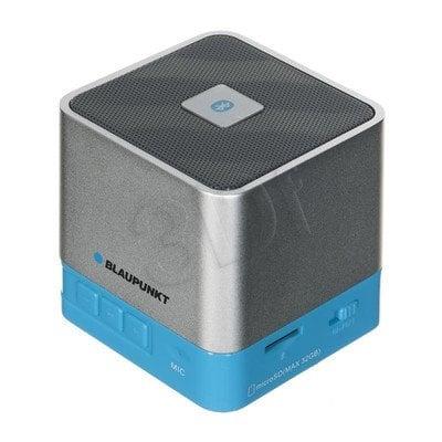 Głośnik bezprzewodowy Blaupunkt BT02WH niebiesko-srebrny