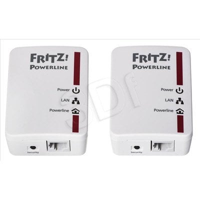 AVM Fritz 510E Powerline 500Mb/s 2szt. 1x100Mb/s