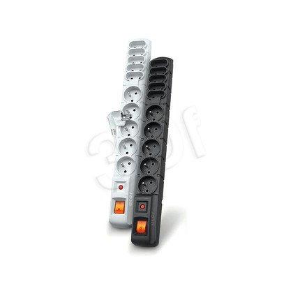 ACAR S10-listwa przeciwprzepięciowa,10gniazd/3m/cz