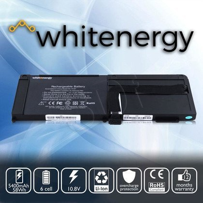 "WHITENERGY BATERIA DO LAPTOPA APPLE MACBOOK PRO 15"" A1321 5400mAh 58WH 10.8V"